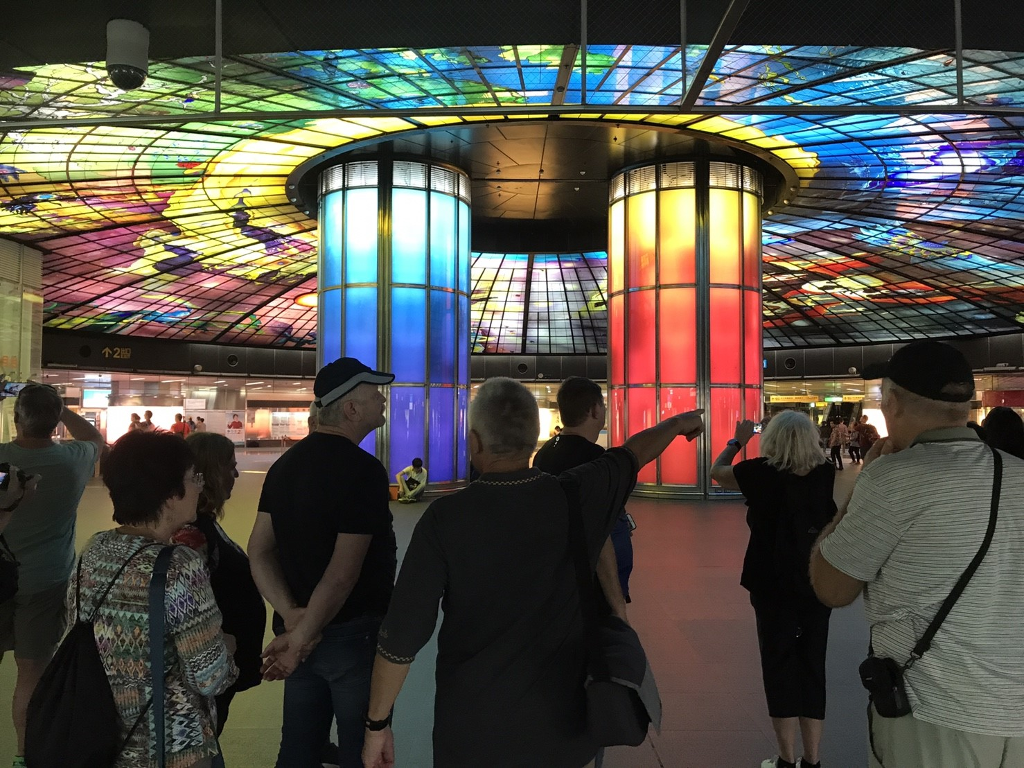 World Most Beautiful Subway Stops in Kaohsiung City