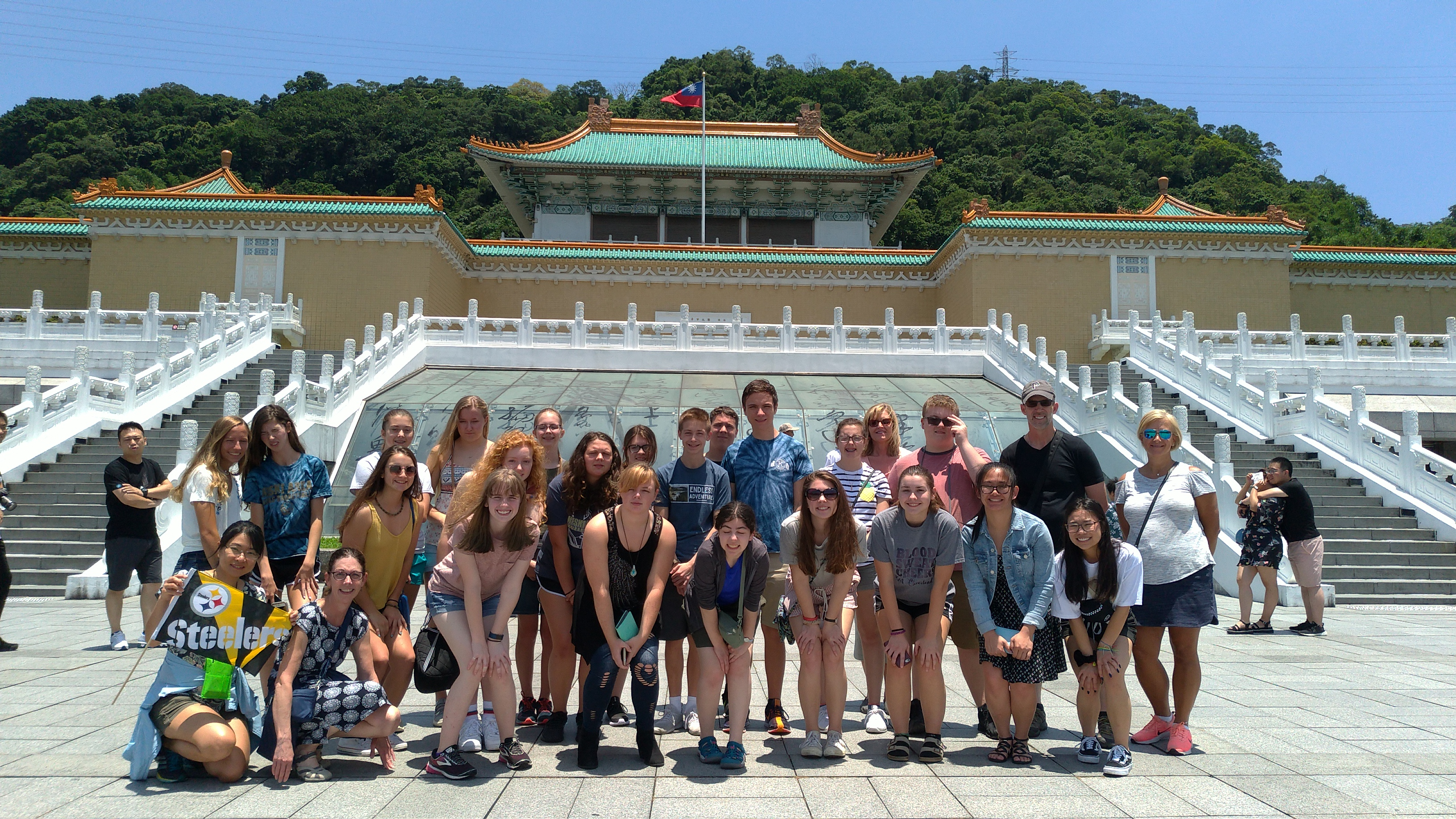 Group in National Palace Museum